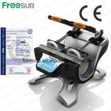 Impresora Double- de la prensa del calor de la estación de Freesub para la taza