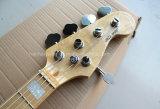 Нот Hanhai/синяя электрическая басовая гитара с 5 шнурами