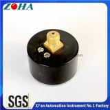 Manomètres axiaux de tube de bourdon de pouce 10bar C de la miniature 40mm/1.5 avec l'exactitude 2.5% de boîtier plastique d'ABS