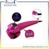 Encrespador de cabelo elétrico automático do LCD do melhor preço