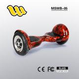 La vespa de equilibrio 2 del uno mismo elegante eléctrico grande más barato de la talla 2017 rueda 10 pulgadas Hoverboard