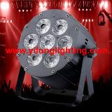 Innen-LED Stadiums-Licht des Aluminium-7X15W Rgbaw 5in1