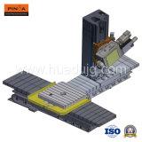 Taladro horizontal de seis ejes y centro de mecanización del CNC que muele
