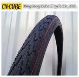 최상 까만 자전거 타이어 고무 자전거 타이어