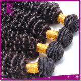 波様式の多彩で完全なクチクラの組みひもの毛