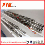 Twin cónico Screw e Barrel para PVC Sheet Pipe