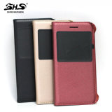 Cassa di cuoio del telefono del coperchio di batteria di Shs per la galassia A3 di Samsung
