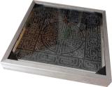 Indicatore luminoso sotterraneo del mattone della sosta solare del comitato solare con indicatore luminoso variopinto ed il Patten differente
