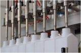 Máquina de rellenar líquida de la botella automática, llenador del champú, llenador detergente