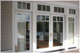 Алюминиевая французская внешняя дверь для балкона для сбывания