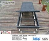 Алюминиевая кровать Sun с основанием нержавеющей стали