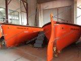 O bote de salvamento de alta velocidade totalmente incluido, FRP jejua canoa de salvação