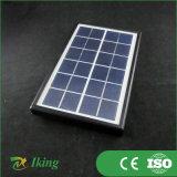 Poly panneau solaire de l'énergie solaire 3W6V avec l'armature en plastique