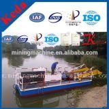 Collecteur d'herbe aquatique Navires à ordures