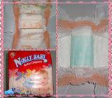 Le coton de tissu aiment la couche-culotte de bébé de Backsheet