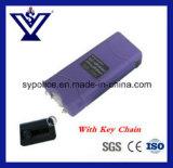 열쇠 고리 (SYSK-800P)를 가진 소형 자기방위 플래쉬 등 Taser