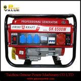싼 가격 스위스 Kraft Sk8500W 가솔린 발전기