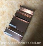 Perfil de aluminio para el marco del gabinete de cocina