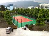 De synthetische Bevloering van de Tennisbaan van het Silicium Pu Itf