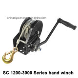 1200-3000lbs Hand 4X4 Power Crane Electric Winch