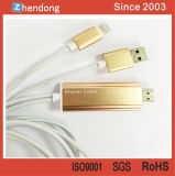 Tecnologia nova HDMI HDTV com o conversor 1080P para o iPhone