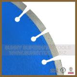 lámina circular concreta del diamante de 350m m