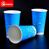 Kaltes Drinking Paper Cup mit Plastic Lids