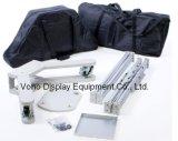 Indicador do carrinho da tevê do fardo da exposição com carrinho do plasma dois ou da televisão do LCD