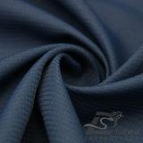 Agua y de la ropa de deportes tela tejida chaqueta al aire libre Viento-Resistente 100% de la pongis del poliester del telar jacquar de la tela escocesa abajo (53226)