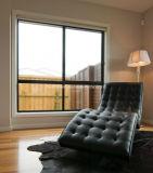 Bespoke высоким алюминий спрятанный стеклом ролика двойника типа сползая Windows