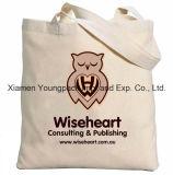 Grand sac d'emballage lourd estampé par coutume promotionnelle de plage de toile du coton 12oz