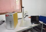 Bewegliche Markierungs-Schwarz-Farbe Mopa 20W Faser-Laser-Markierungs-Maschine für Telefon, Auflage, Schmucksache-Energien-Bank LED-Bulms IS