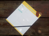 Большое Size Personal Dairy Planner Pocket Notebook с эластичной резиновой лентой (XL-24K-JH-01)
