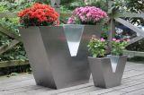V-type de Planters van het Decor van het Roestvrij staal (FO-9029)