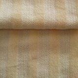 Velvet pálido rayado amarillo para ropa / Tapicería / Baby Paños