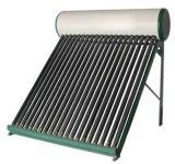 Géiser solar del calentador de agua de la gravedad