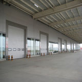 Metallrahmen-Ausgangsgarderoben-Schrank-Wandschrank-Glasschiebetüren (HF-1077)