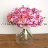 装飾的で多彩なアジサイの花束の人工花(SW12002)