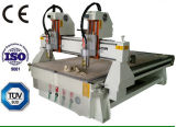 Маршрутизатор Woodworking CNC гравировки 2 шпинделей