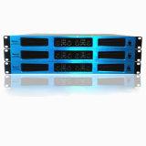 4 amplificador de potência profissional azul da classe 1u D Digitas da canaleta
