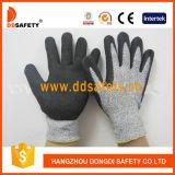 Das Widerstand-Handschuh-Sandy-Nitril schneiden, das Sicherheits-Handschuhe Dcr440 eintaucht