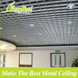 China bildete Metall dekorative Gitter-Aluminiumdecke