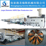 Linha plástica da extrusão da tubulação do HDPE PPR do PVC