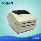 Imprimante thermique directe d'étiquette de collant de position de code barres de blanc et de noir