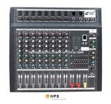 Het mengen van Mixer Console/HP-08A/Mixer/Soud/de de Professionele Console van /Console/Sound van de Mixer/Mixer van het Merk