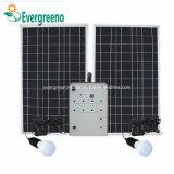 Mini generador de energía solar para el sistema de iluminación