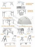 プラスチックFolding TableおよびOutdoor Useの庭のためのChair