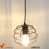 Decken-Weinlese-Metallrahmen-hängende Lampe
