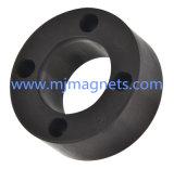 Пластичной отлитый в форму впрыской магнит феррита для датчика