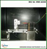Автоматическая машина испытания воспламеняемости пластичных материалов провода зарева